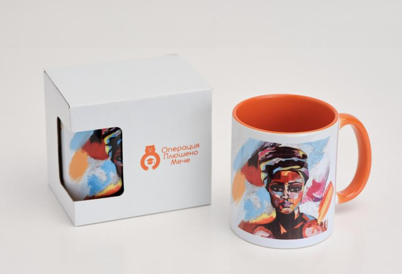 "Mug ""The African Woman"" ""Operation: Teddy Bear"" Associaton"