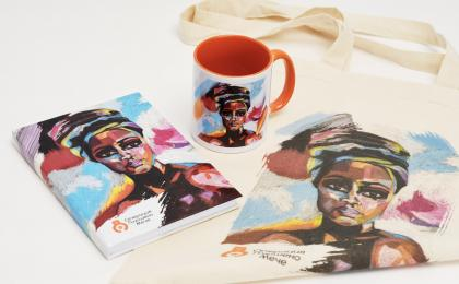 "Gift set ""The African Woman"""