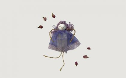purple lavender doll ise