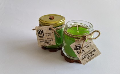 Scented candle Lemongrass